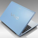 Sony VAIO Blue Laptop