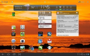 HD Widgets for Honeycomb Android tablets
